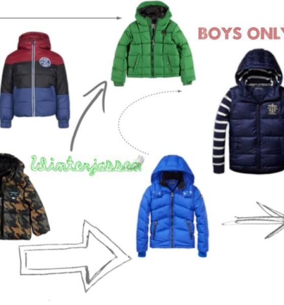 Boys only, winterjassen