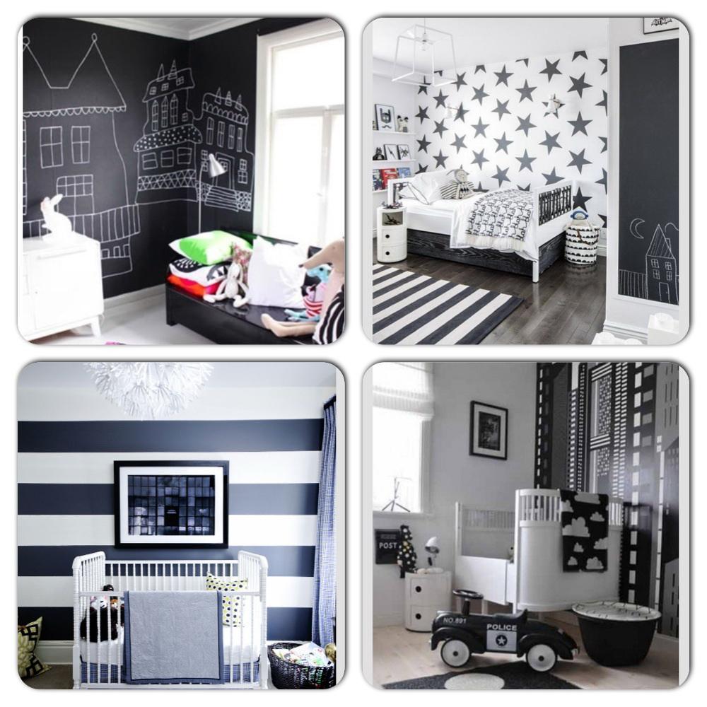 Zwart kamer baby idee - Volwassen kamer kleur idee ...