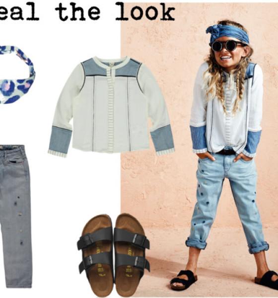 Kleine hipster
