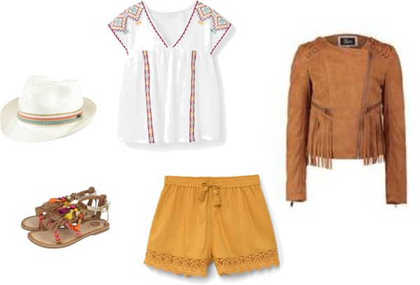 Een boho outfit of the day