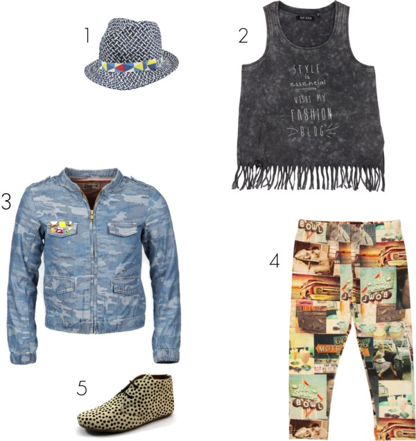 Drie trends in een outfit