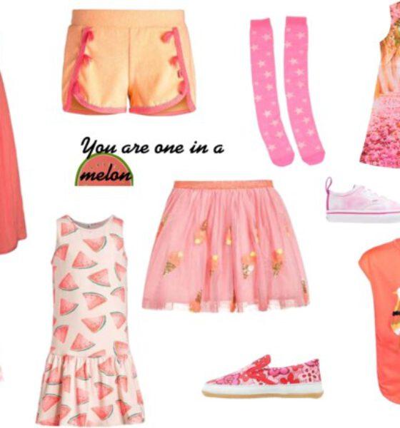 Oranje en roze in één look