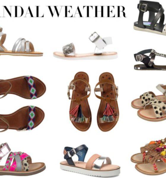 Leuke meisjes sandalen