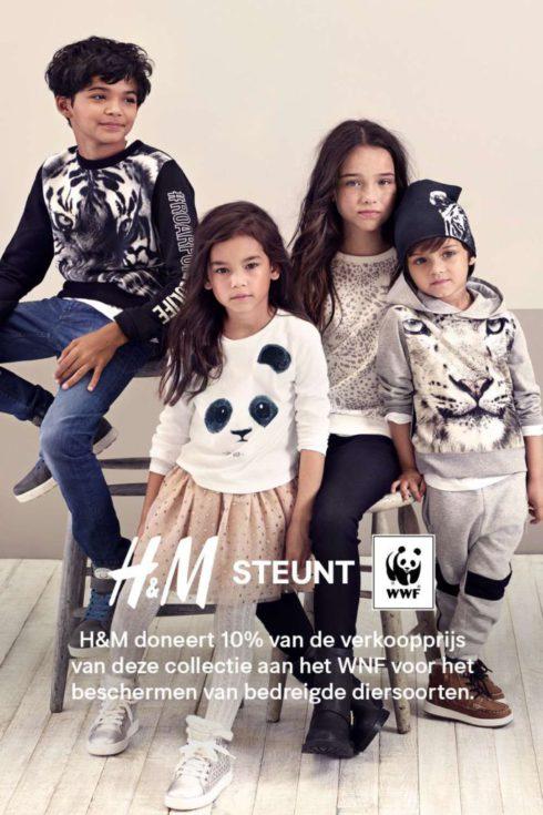 H&M supports Wereld Natuur Fonds