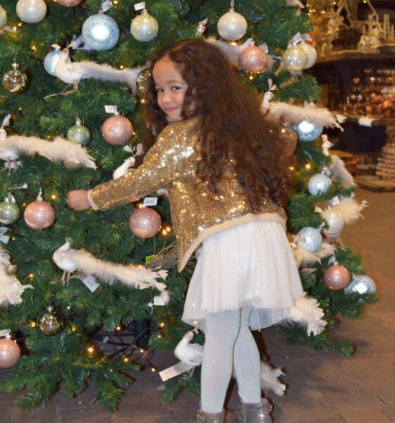 Budget kerst outfit: Zina in Zeeman