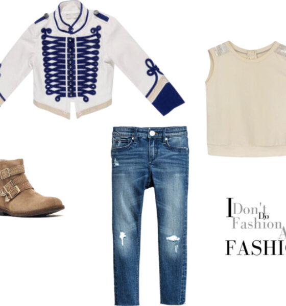 Trendalert Skinny fit worn jeans