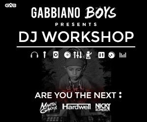 WIN: DJ workshop bij Gabbiano boys