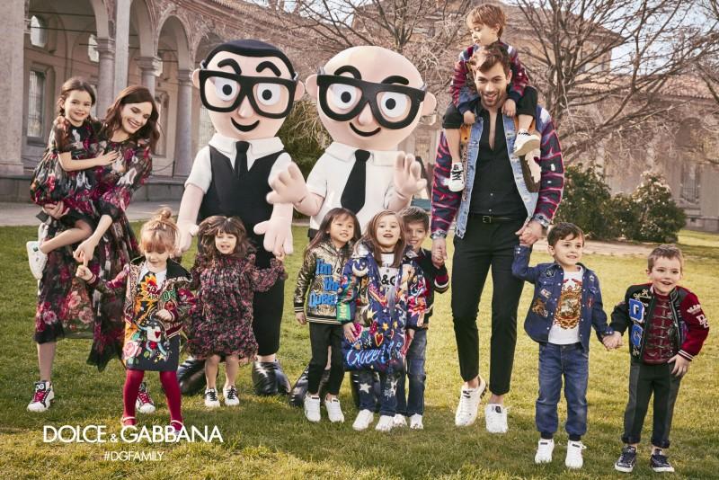 Dolce & Gabbana kids Autumn Winter 2018