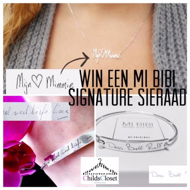 Win een MI BIBI signature sieraad