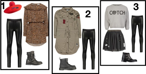 3x verschillende outfits met deze musthave legging