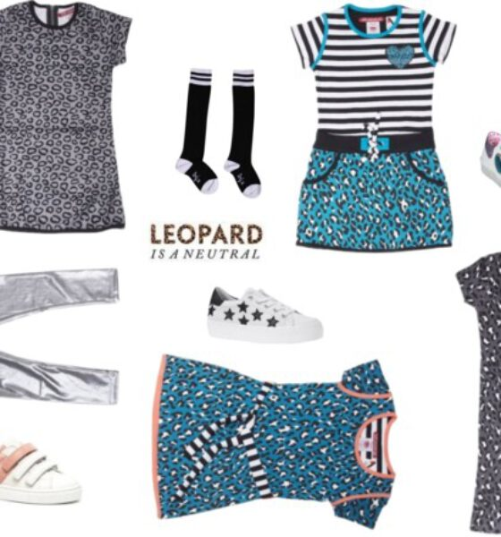 De leopard print is present