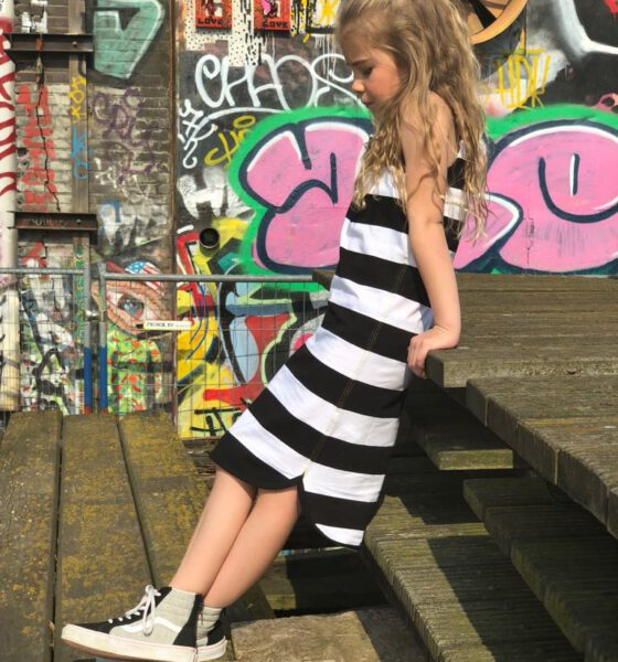 Lucky Jolie rockt de Little Bandit maxi dress