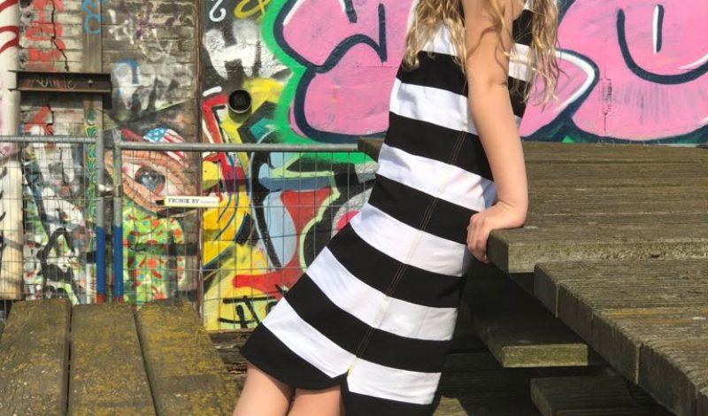 Lucky Jolie rockt de Little Bandit maxi dress