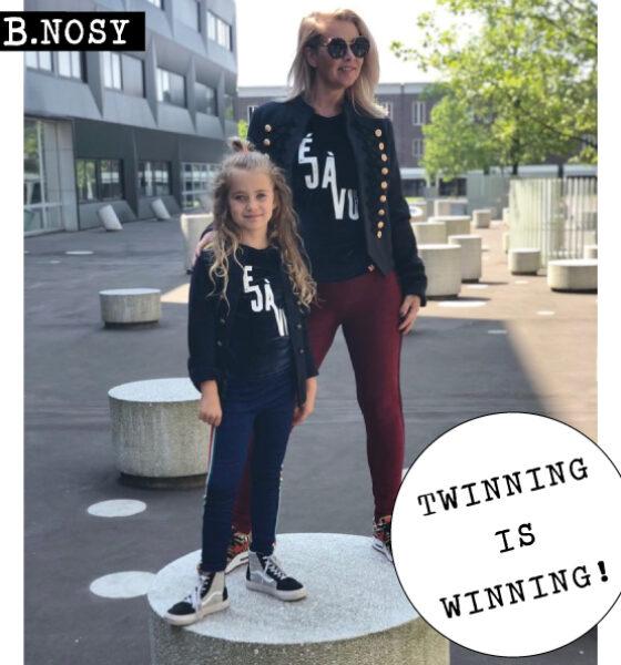 Winnaar B.Nosy twinning is winning winactie