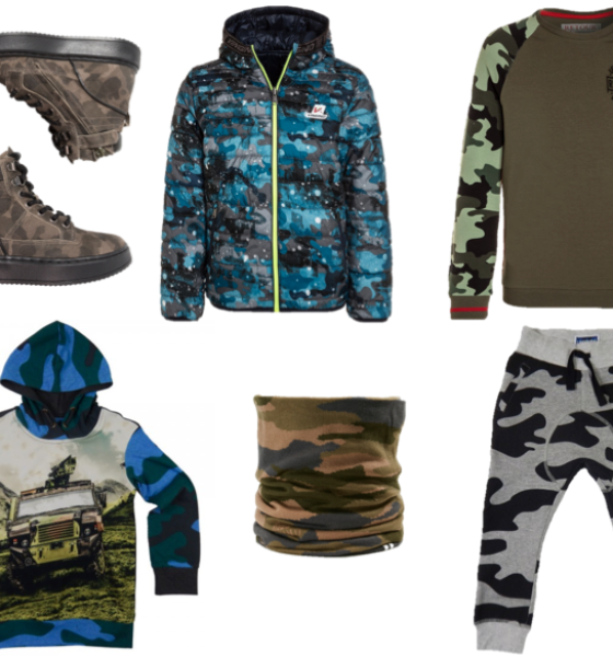 De Army print als all time classic