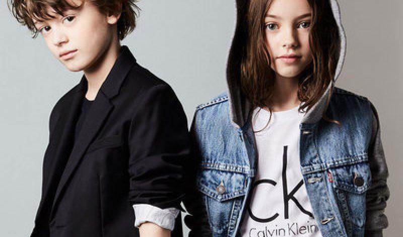 Calvin Klein kids ss19