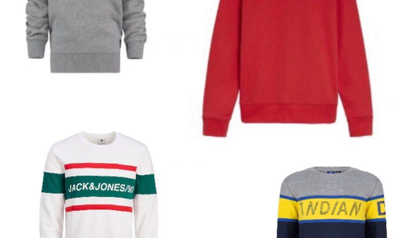 Trend de sweater met merknaam