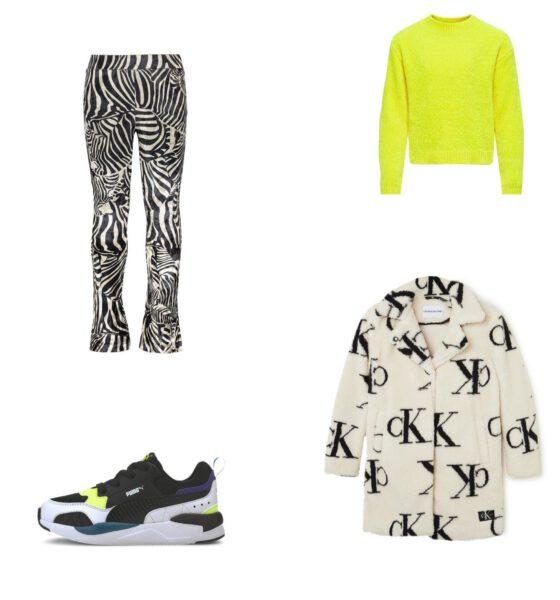Een trendy meisjes outfit om te onthouden
