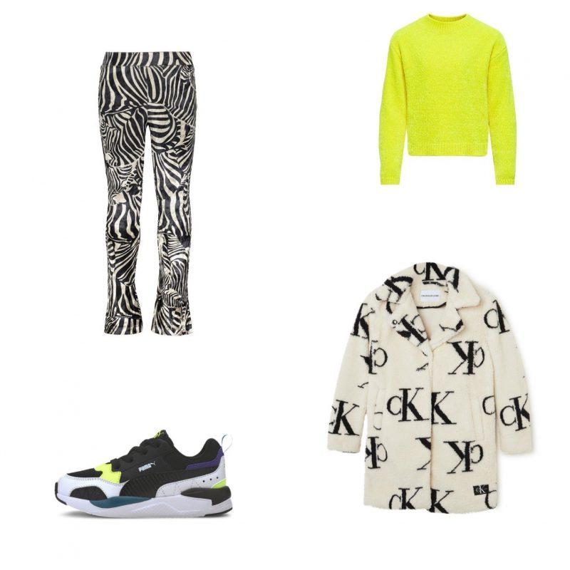Trendy meisjes outfit